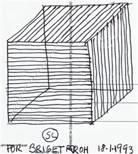 group of four works by sol lewitt