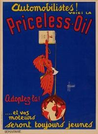 priceless oil by h. de laurencin