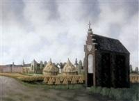 kapel te heel (limburg) by toon van den muysenberg