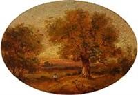 autumn landscape by john linnell