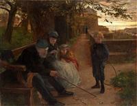 familj i park by lionel percy smythe