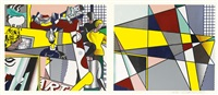 tel aviv museum print by roy lichtenstein
