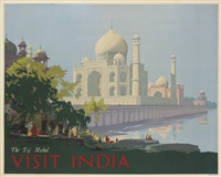 the taj mahal, visit india by william spencer bagdatopolous