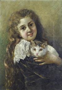 figura con gatto by albegiacomo