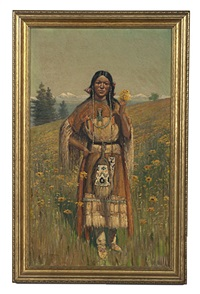 indian painting by thomas corwin lindsay