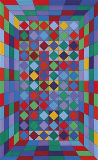viral by victor vasarely