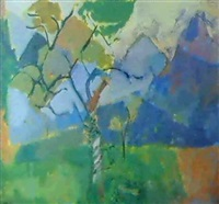 apple orchard, orzes by earl haig