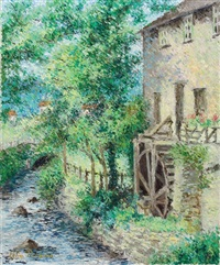 le moulin du grand-pére mauduit by lélia pissarro