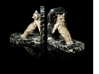 bear bookends (pair) by maurice frecourt