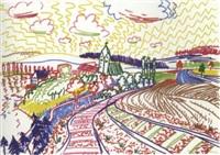 walt disney und leonardo betrachten das abendland by peter angermann