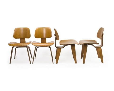 Remarkable Four Eames Dcw Dining Chairs By Charles And Ray Eames On Artnet Pdpeps Interior Chair Design Pdpepsorg