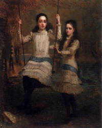the cameron sisters by stephen catterson smith the younger