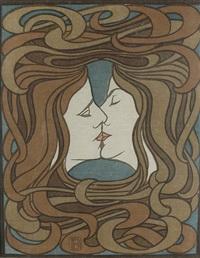 der kuss by peter behrens