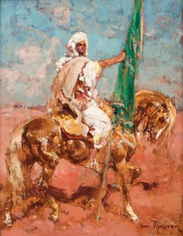 le porte étendard du prophète by henri emilien rousseau