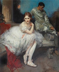 the play is ended a ballerina and harlequin by walter ernest webster