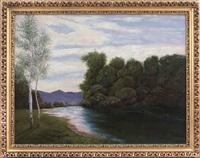 lungo il fiume by lorenzo delleani