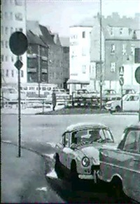 motiv fran foreningsgatan/brogatan vid triangeln, malmo by bengt hillgrund