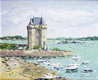 saint-servan, la tour solidor by guy legendre