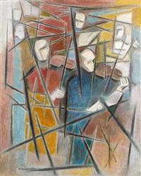 les violonistes by felicia pacanowska
