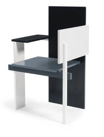 berlin chair by gerrit rietveld