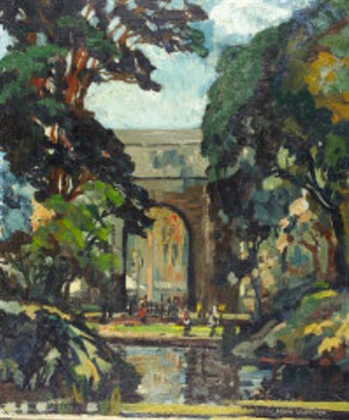 dublin st stephens green the archway by john frederick hunter