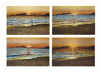 i will go to paradise - self-portrait, hyères (in 4 parts) by youssef nabil