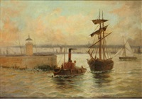 sail and steam by edward henry eugene fletcher