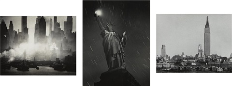 selected new york images (3 works) by andreas feininger