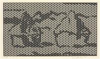 haystack #7 (from haystack series) by roy lichtenstein