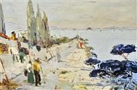 le village en bord de méditerranée grande by rudolph negely