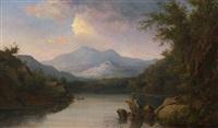 autumn in the white mountains by john white allen scott
