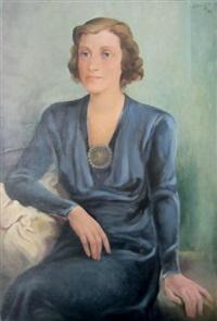 portrait de femme by ivan babij