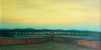 yellow evening by jaroslav valecka