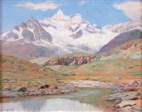 le petit lac du blanbert by ange abrate
