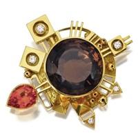 a pendant-brooch by giorgio facchini