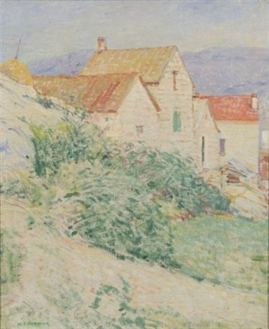 hillside houses massachusetts by william chadwick