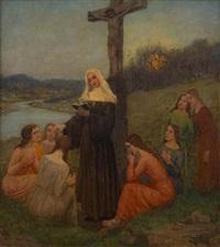 le prêche by hubert ritzenhofen