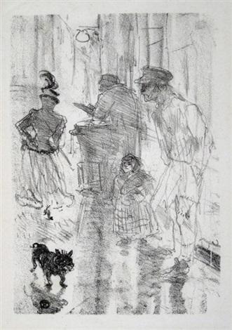 le marchand des marrons by henri de toulouse lautrec