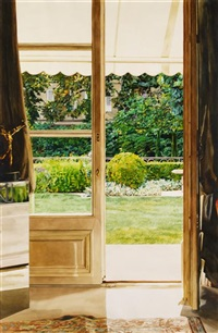 the study door/lac leman by carolyn brady
