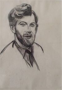 peter russell by wyndham lewis