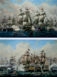 the battle of trafalgar by peter gerd bilas