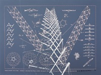 tensile-integrity structures—tensigrity (on 2 sheets) by buckminster fuller