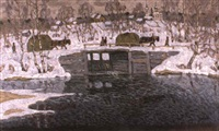 retour des attelages by vladimir bobrov