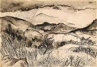 berglandschaft by richard huelsenbeck