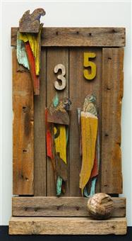 side show parrots by rosalie gascoigne