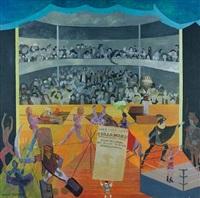 sadlers wells by leonard rosoman