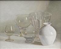 stillleben mit gläsern und vase by jacques blanchard
