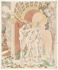epilogue, the three graces by charles sims