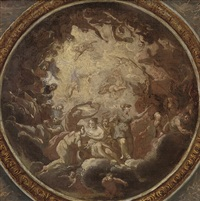 allegory of peace (study for a ceiling) by antonio verrio