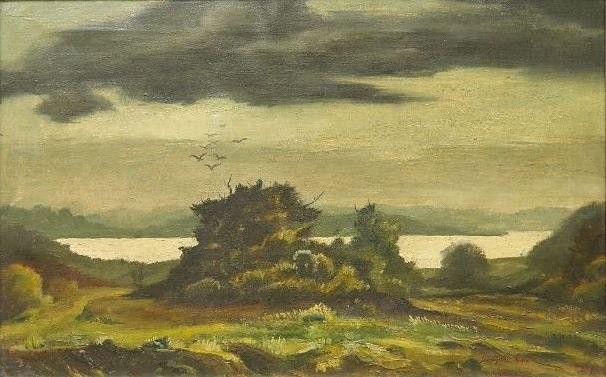 landscape by clyde singer